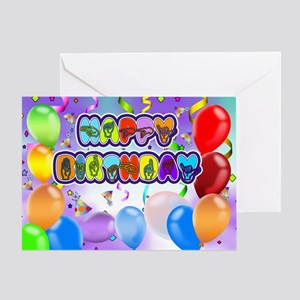 Deaf Language Happy Birthday Greeting Card In Sign