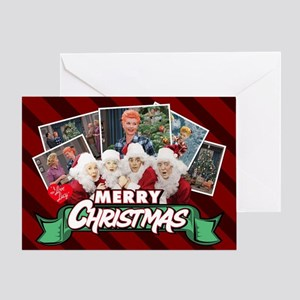 I Love Lucy Christmas Greeting Card