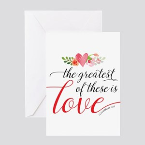 Greatest Love Greeting Cards