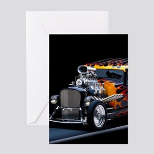 Hot Rod Greeting Cards