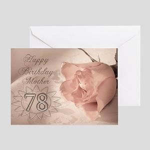 78th Birthday Greeting Cards