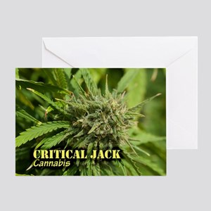 Critical Jack (with name) Greeting Card