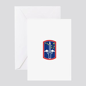 SSI - 172nd Infantry Brigade Greeting Card