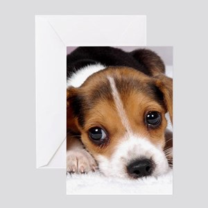 Cute Puppy Greeting Cards