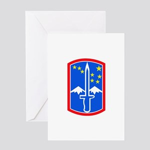 SSI -172nd Infantry Brigade Greeting Card