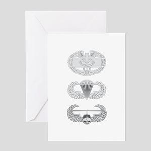 CFMB Airborne Air Assault Greeting Card