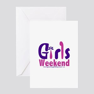 Girls Weekend in the Pink Greeting Card