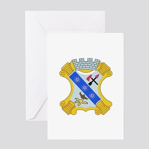 DUI - 1st Bn - 8th Infantry Regt Greeting Card
