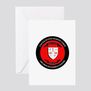 Combat Service Support Group - 1 Greeting Card