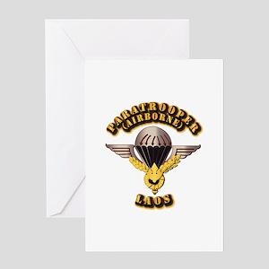 Airborne - Laos Greeting Card