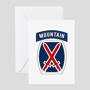 10th Mountain Greeting Card