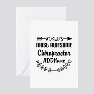 Personalized Worlds Most Awesome Chi Greeting Card