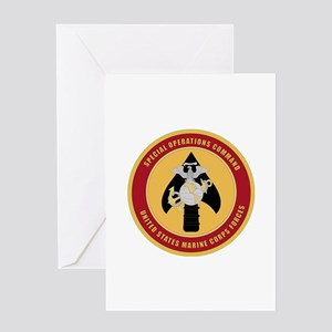 Marine Special Ops Cmd Greeting Card