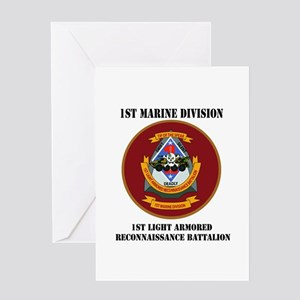 1st Light Armored Reconnaissance Bn with Text Gree