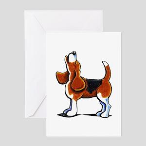 Tricolor Beagle Bay Greeting Card