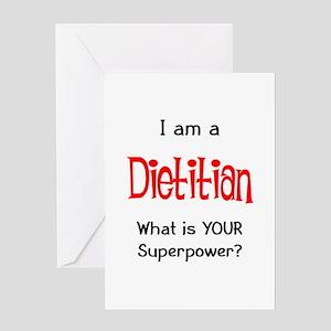 dietitian Greeting Card
