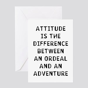Attitude Difference Greeting Card