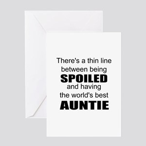 Funny auntie Greeting Cards