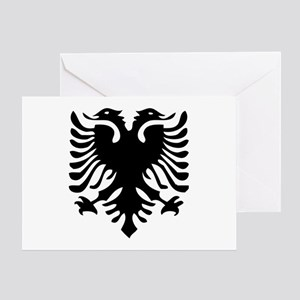 Albanian Eagle Greeting Cards (Pk of 10)