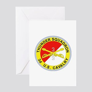 DUI - 3rd Squadron - 3rd ACR Greeting Card
