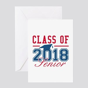 Class Of 2018 Senior Greeting Card