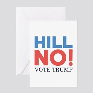 HILL NO Greeting Card