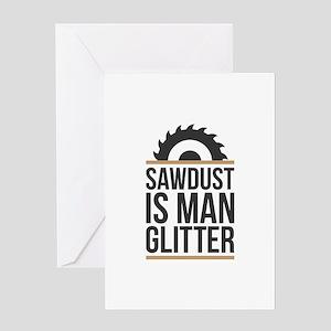 Sawdust Greeting Card