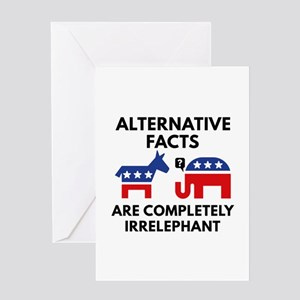 Alternative Facts Greeting Card