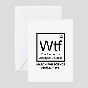 Wtf Outraged Disbelief Greeting Card