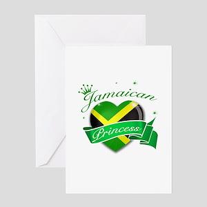 Jamaican Princess Greeting Card
