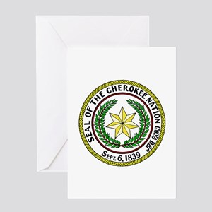 Great Seal of the Cherokee Nation Greeting Card