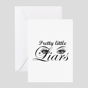 Pretty Little Liars Greeting Card