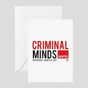 Criminal Minds Greeting Card