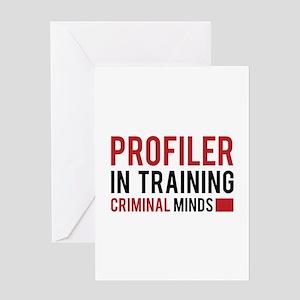 Profiler in Training Greeting Card