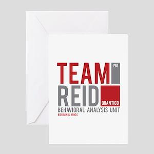 Team Reid Greeting Card