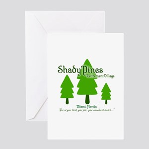 Shady Pines Retirement Village Greeting Cards