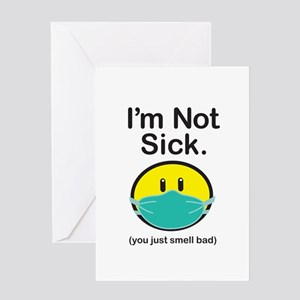 Smell Bad Greeting Card