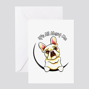 Fawn Frenchie IAAM Greeting Card