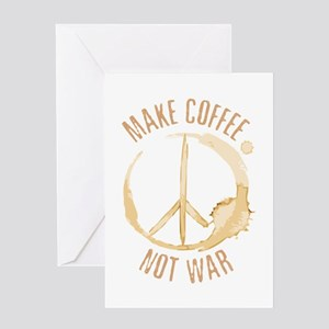 Make Coffee Greeting Card
