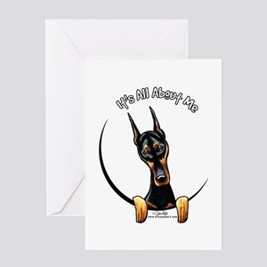 Doberman IAAM Greeting Card