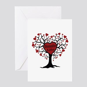 Donate Life Tree Greeting Card