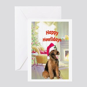 Airedale Christmas Greeting Card
