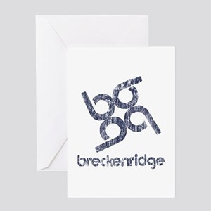 Vintage Breckenridge Greeting Card