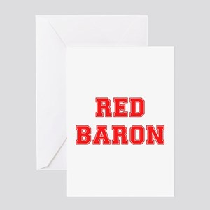 RED BARON! Greeting Cards