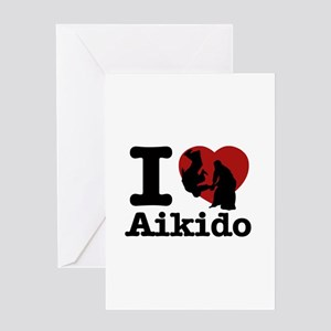 Aikido Heart Designs Greeting Card