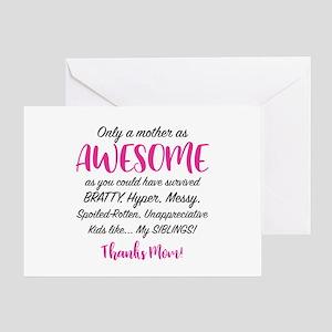 Funny Mom Greeting Card