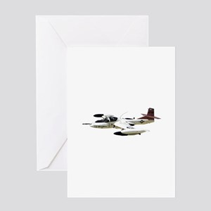 A-37 Dragonfly Aircraft Greeting Card