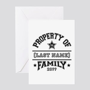 Family Property Greeting Card