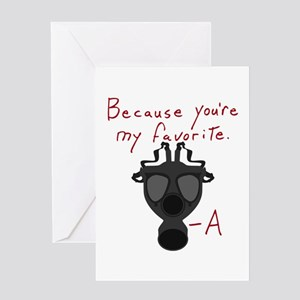 PLL Because You're My Favorite Greeting Cards