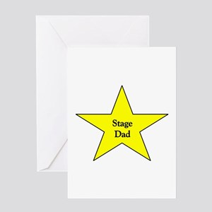 Stage Dad Greeting Card